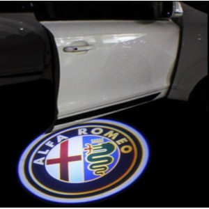 Alfa led logo projector instapverlichting