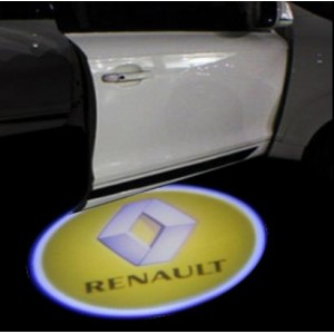 Renault led logo projector instapverlichting
