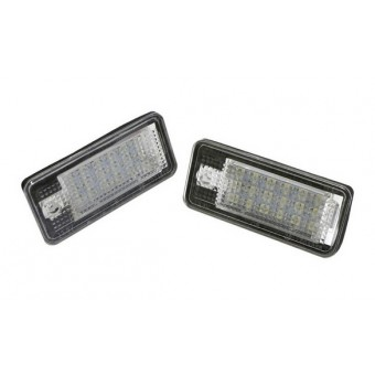 LED kenteken verlichting Audi A3, S3, A4, S4, RS4, A6, S6, RS6, A8, S8, Q7