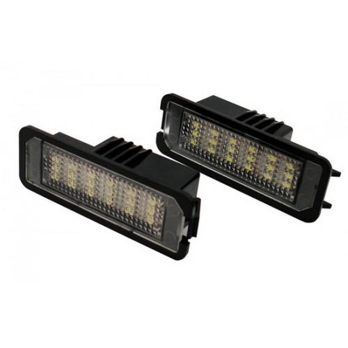 LED canbus kenteken verlichting Seat Leon, Ibiza, Exeo, Toledo.