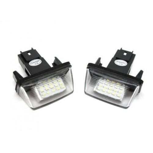 LED kenteken verlichting Peugeot, 206, 207, 306, 307, 308, 406, 407 ...