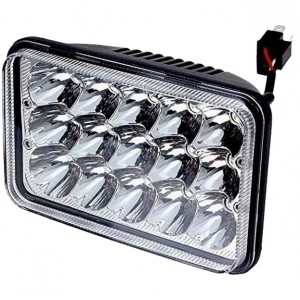 "LED 4x6"" inch koplamp / breedstraler hi/lo"