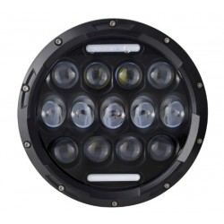 LED 7 inch koplamp model heavy duty, met drl