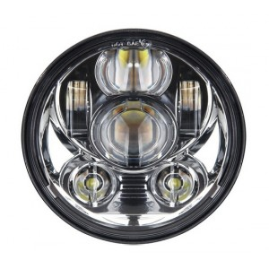 LED 5-3/4 inch koplamp model speaker, chrome