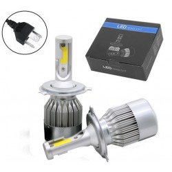 H4 bi-led kit, evolution ledlampen
