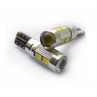 T10 / W5W LED CANBUS storingsvrij 10x SMD 5630