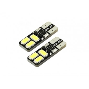 T10 / W5W LED CANBUS storingsvrij 6x SMD 5730