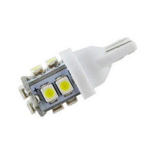 LED T10 lamp SMD 3528 12V/24V wit