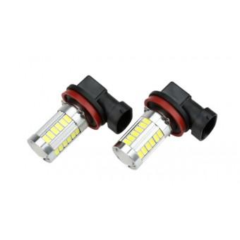 Set H11 LED lampen 16W