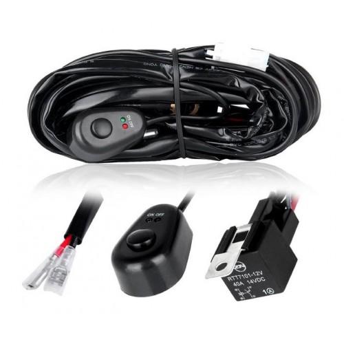 LED verlichting aansluitset / kabel, mono
