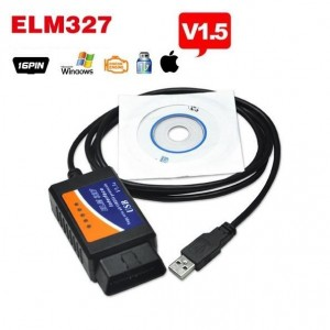 OBD2 ELM327 V1.5 interface met USB kabel
