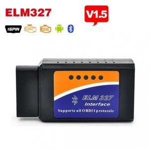 OBD2 ELM327 V1.5 Bluetooth interface