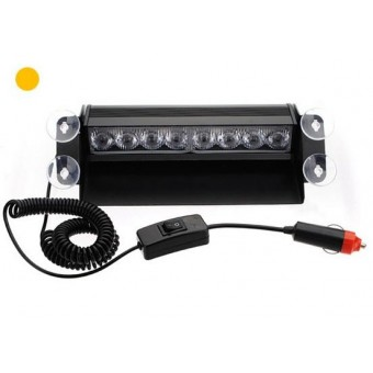 LED dashboard flitser ambergeel