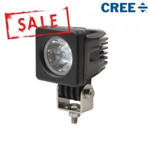 Cree led breedstraler 10 watt vierkant