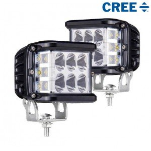 SET CREE LED Side Shooters 45 watt 45W