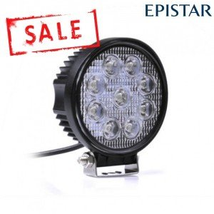 LED werklamp / breedstraler 27watt 27W