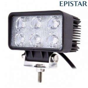 LED werklamp / breedstraler 18watt 18W