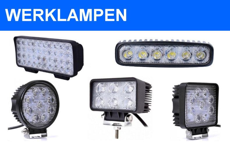 led werklamp 12w 15w 18w 27w 48w 50w 100w 200w